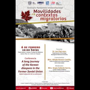 A long journey of the korean diaspora in the Former Soviet Union @ Sala Juárez del CIESAS Ciudad de México