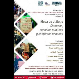 Ciudades, espacios públicos y conflictos urbanos @ Anexo
