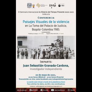 Paisajes visuales de la violencia en la La Toma del Palacio de Justicia, Bogotá-Colombia 1985 @ Transmisión por Facebook