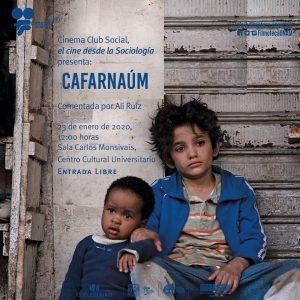 """Proyección de la película """"Cafarnaúm"""" @ Sala Carlos Monsivaís del Centro Cultural Universitario"""