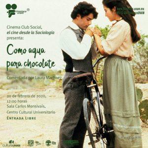"""Proyección de la película """"Como agua para chocolate"""" @ Sala Carlos Monsivaís del Centro Cultural Universitario"""