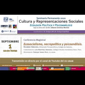 Ecosocialismo, necropolítica y psicoanálisis @ Transmisión por Youtube