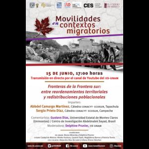 Fronteras de la Frontera sur: entre reordenamientos territoriales y redistribuciones poblacionales @ Transmisión por Youtube