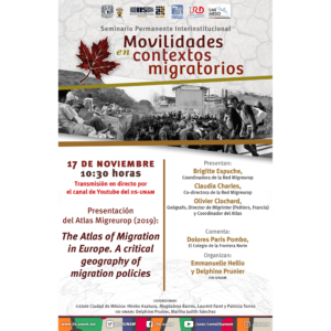 The Atlas of Migration in Europe. A critical geography of migration policies @ Transmisión por Youtube