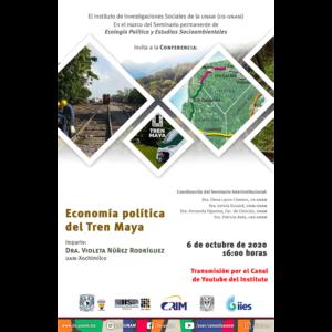 Economía política del Tren Maya @ Transmisión por Youtube