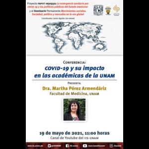 COVID-19 y su impacto en las académicas de la UNAM @ Transmisión por Youtube
