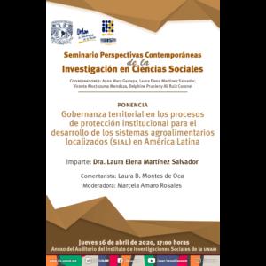 Gobernanza territorial en los procesos de protección institucional para el desarrollo de los sistemas agroalimentarios localizados (SIAL) en América Latina @ Anexo
