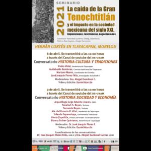 Hernán Cortés en Tlayacapan, Morelos @ Transmisión por Youtube