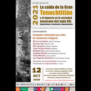 Campaña continental 500 años de resistencia indígena @ Transmisión por Youtube