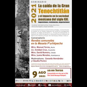 Rondas comunales en la Meseta P'urhépecha @ Transmisión por Facebook