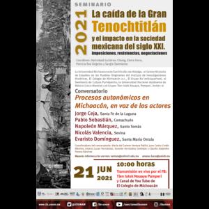 Procesos autonómicos en Michoacán, en voz de los actores @ Transmisión por Youtube