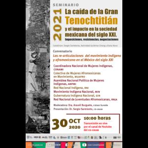 Las re-articulaciones del movimiento indígena y afromexicano en el México del siglo XXI @ Transmisión por Youtube