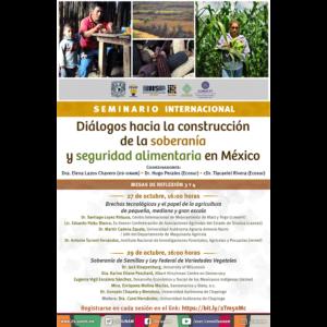 Soberanía de Semillas y Ley Federal de Variedades Vegetales @ Videoconferencia