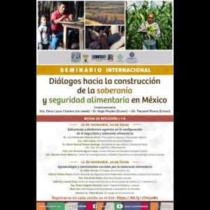 Estructuras y dinámicas agrarias en la configuración de la seguridad y soberanía alimentaria @ Videoconferencia