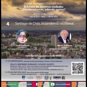 Santiago de Chile, la pandemia neoliberal @ Transmisión por videoconferencia