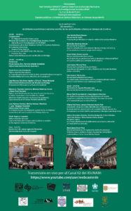 """Seminario Internacional """"Espacios públicos y vivienda en Centros Históricos en tiempos de pandemia"""" @ Transmisión por Youtube"""